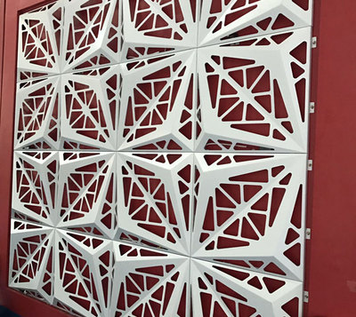 普基镂空雕花铝单板