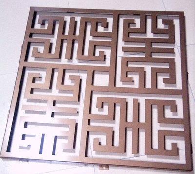 普基镂空雕花铝单板7