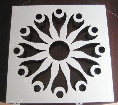普基镂空雕花铝单板5